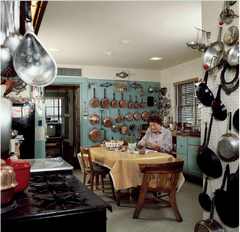 In Julia Child's Kitchen