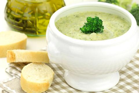 Homemade Cream Of Broccoli Soup
