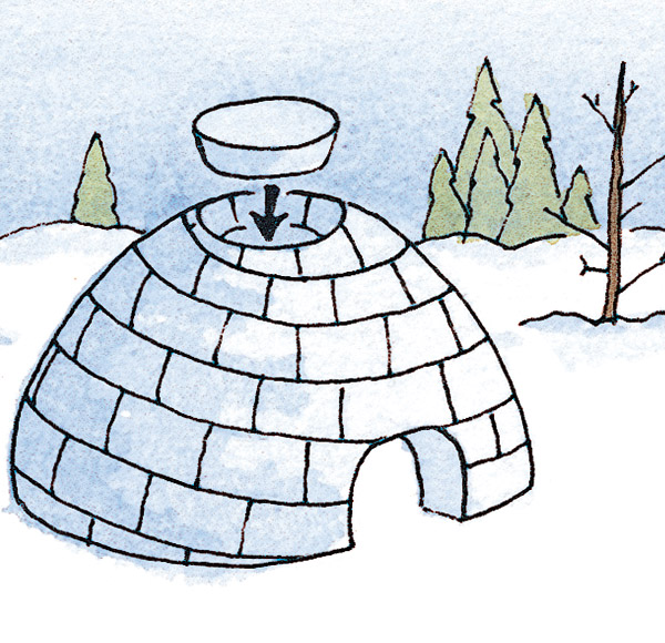 How to Build an Igloo in 10 Steps | Winter Fun - New England Today