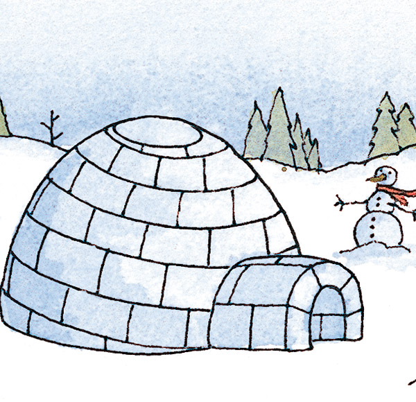 How to Build an Igloo in 10 Steps | Winter Fun - New ...
