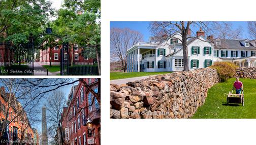 Hill-Stead Museum in April, Farmington, CT