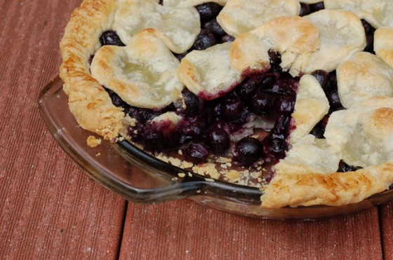 Old Fashioned Blueberry Pie With Tapioca