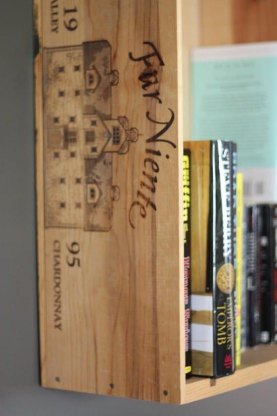 Tips For Using Wine Crate Bookshelves