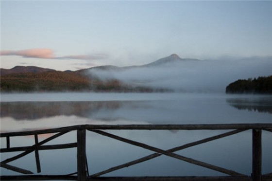 Chocorua Lake Fog