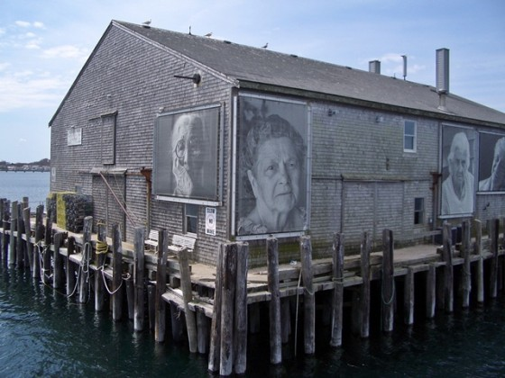 Getting to know provincetown for Abri mural cape cod