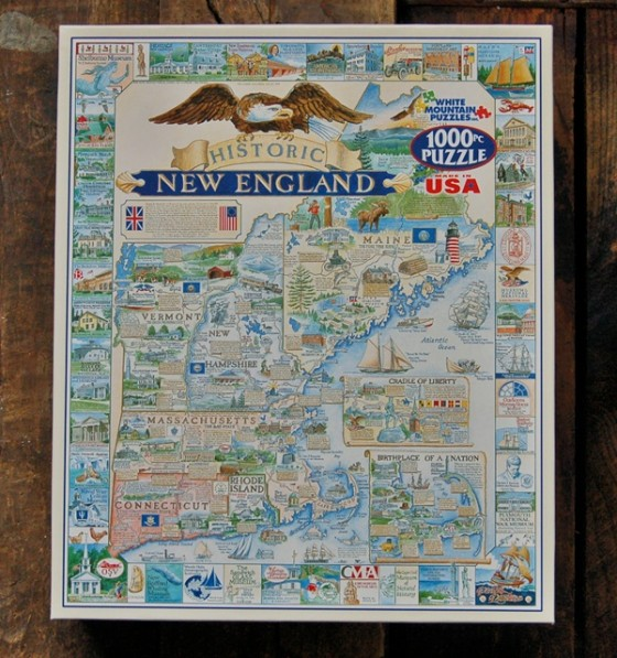 New England Jigsaw Puzzles