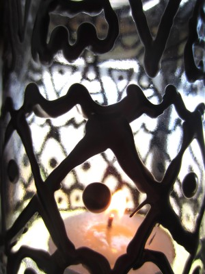 Close up of Gypsy Inspired Lantern