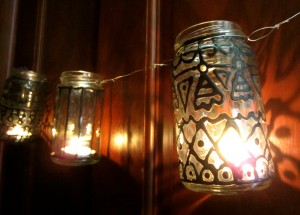 Unpainted Gypsy Inspired Lanterns