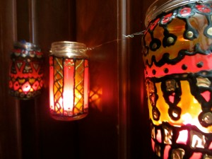 Gypsy Inspired Lanterns