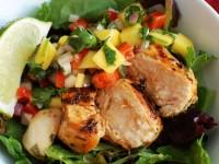 Grilled Chicken Salad with Mango Salsa Recipe