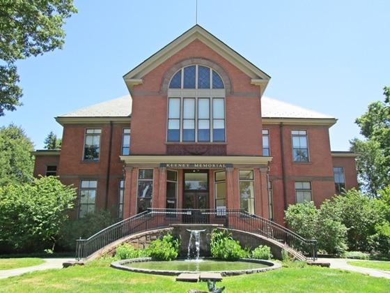 Keeney Memorial Cultural Center In Old Wethersfield Ct