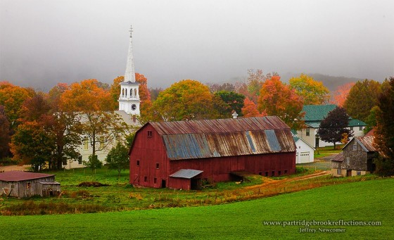 Peacham Vermont By Jeffrey Newcomer