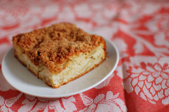 Granny Smith Apple Coffee Cake Recipe