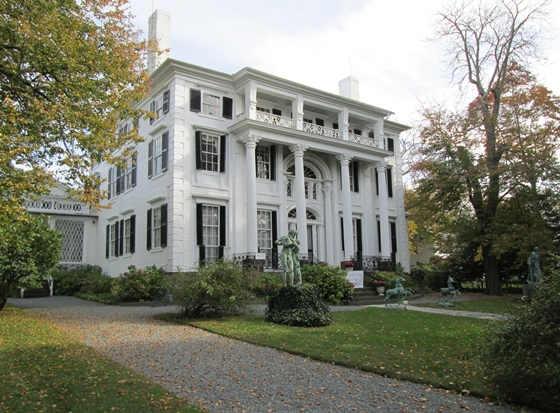 Historic Linden Place in Bristol, Rhode Island