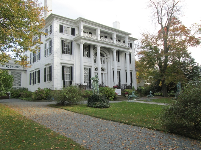 Bristol rhode island fall day trip new england today linden place in bristol ri publicscrutiny Gallery