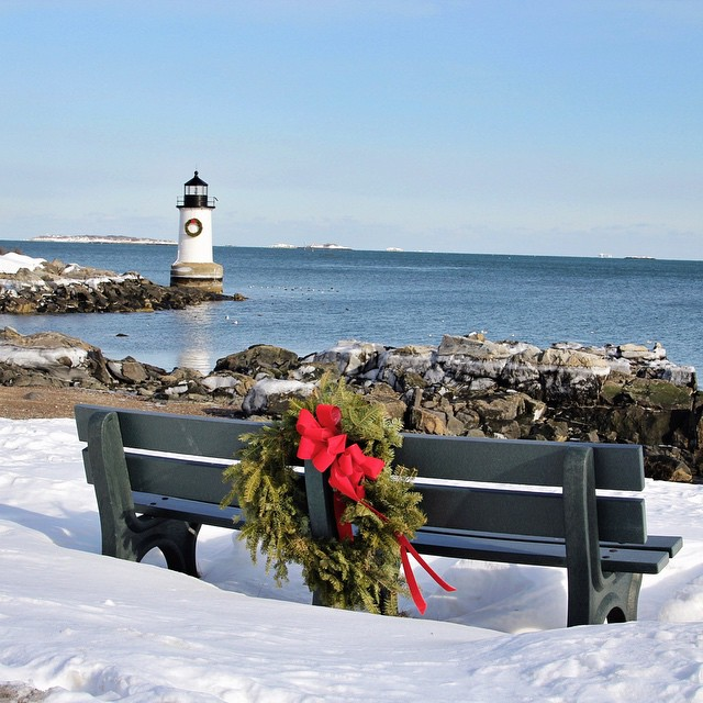 New England Lighthouses in Winter | Photographs - New ...