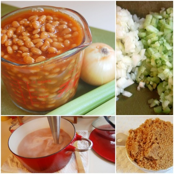 Baked Bean Soup Ingredients