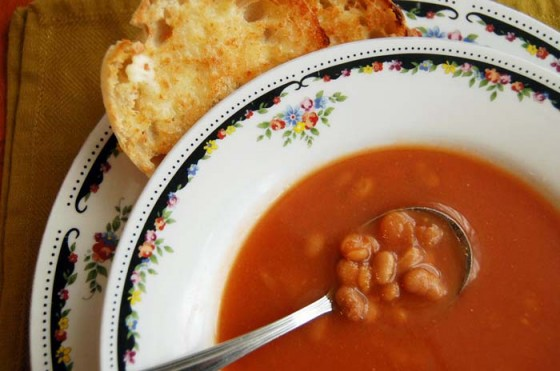 New England Baked Bean Soup
