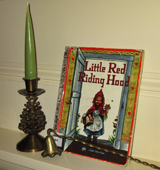 The 1948 version of Red Riding Hood as illustrated by E. O. Jones.