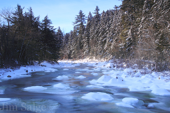 Snow on the Swift River