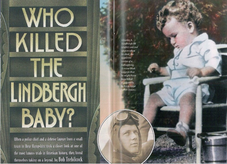 5dd8a6dc The Lindbergh Baby | Who Kidnapped and Killed Charles Lindbergh III ...
