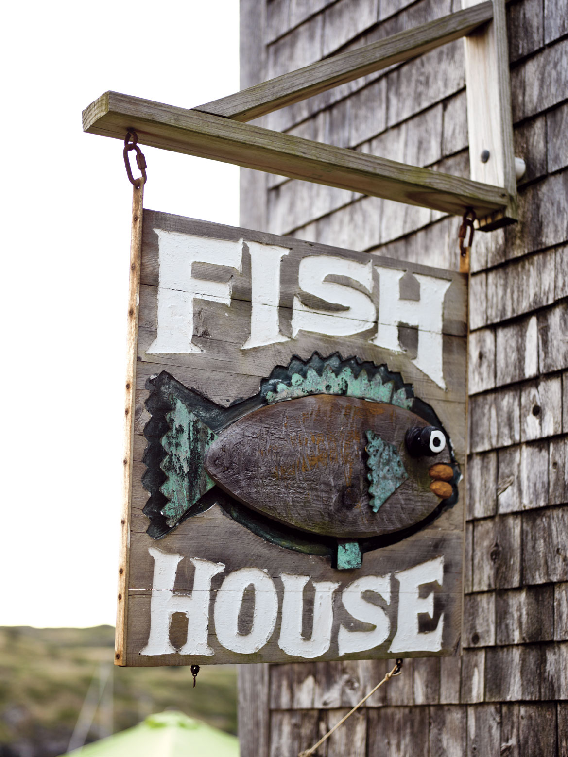 Monhegan island maine island day trip yankee magazine for Ice trek fish house