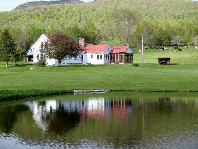 Farm in northumberland new hampshire house for sale for Building a 1 acre pond