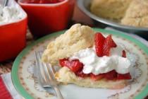 homemade strawberry shortcake 3