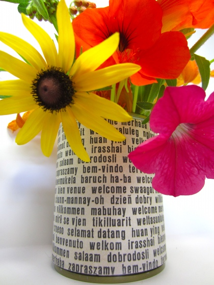 Crafts Make Decorative Vases From Tin Cans