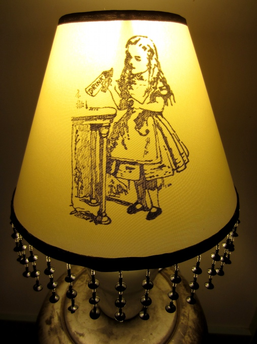 Lampshade craft design a custom lampshade for Decorate your own lampshade