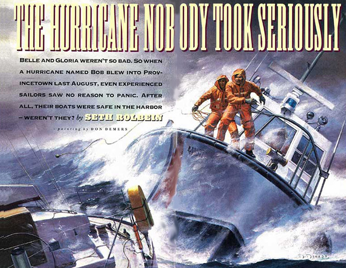 Hurricane Bob The Hurricane Nobody Took Seriously