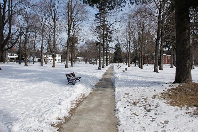 Amherst Common Path