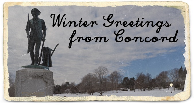 concord winter greetings
