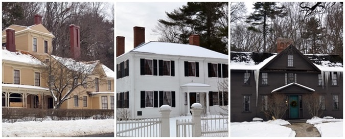 concord author houses
