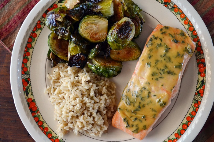 Baked Salmon with Maple-Mustard Sauce | Savory Ways with ...