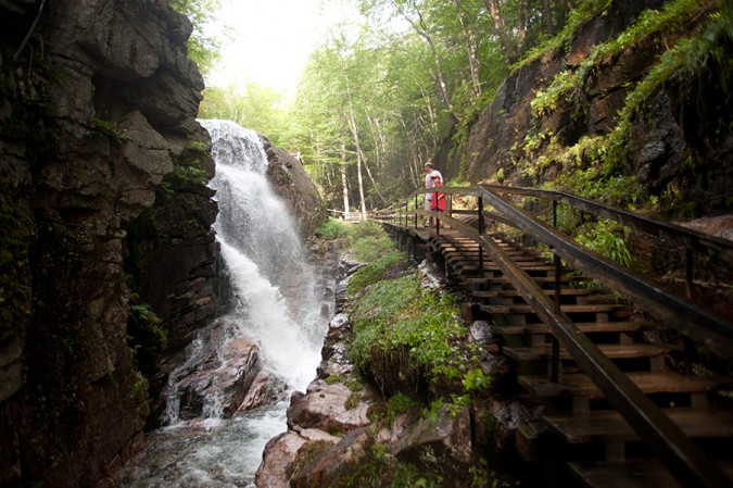 Flume Gorge at Franconia Notch State Park