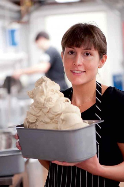 In Hanover, New Hampshire, Morgan Morano has created  some of the best gelato anywhere in the country.