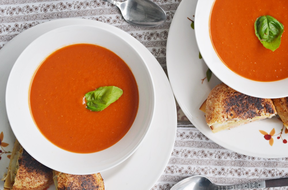 Roasted Red Pepper Soup -- Yankee Magazine
