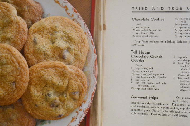 vintage tollhouse recipe Toll House Cookies