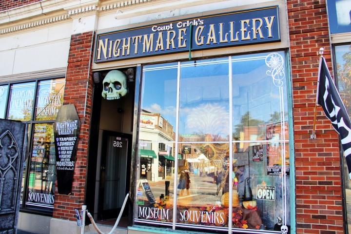 Count Orlock's Nightmare Gallery is one of my favorite stops in Salem.