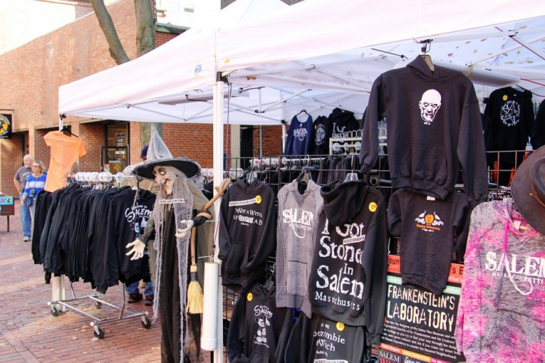 Salem t-shirts and sweatshirts are a perennial favorite for visitors to the city.