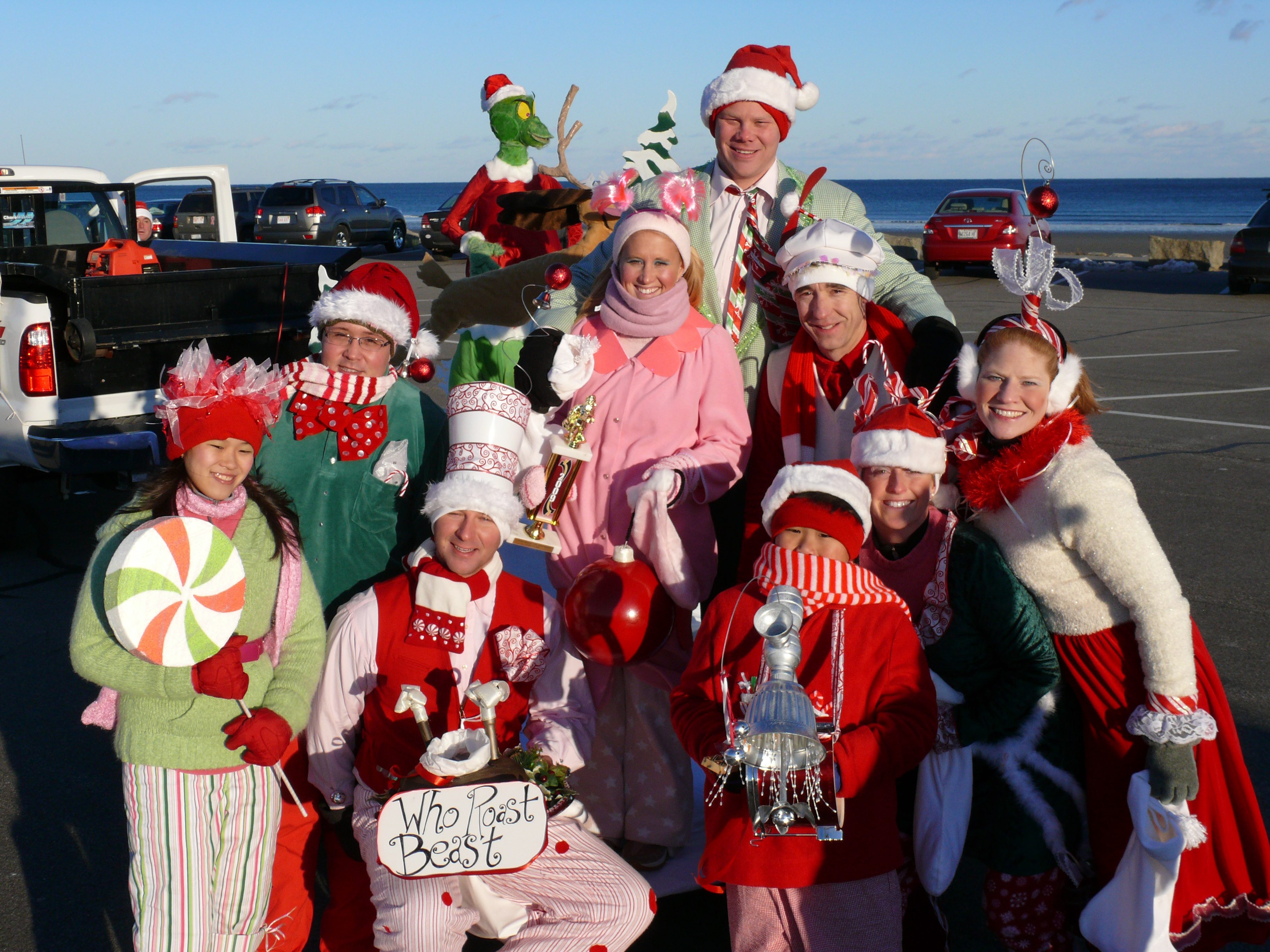 Christmas Parade Ideas - Ogunquit christmas parade