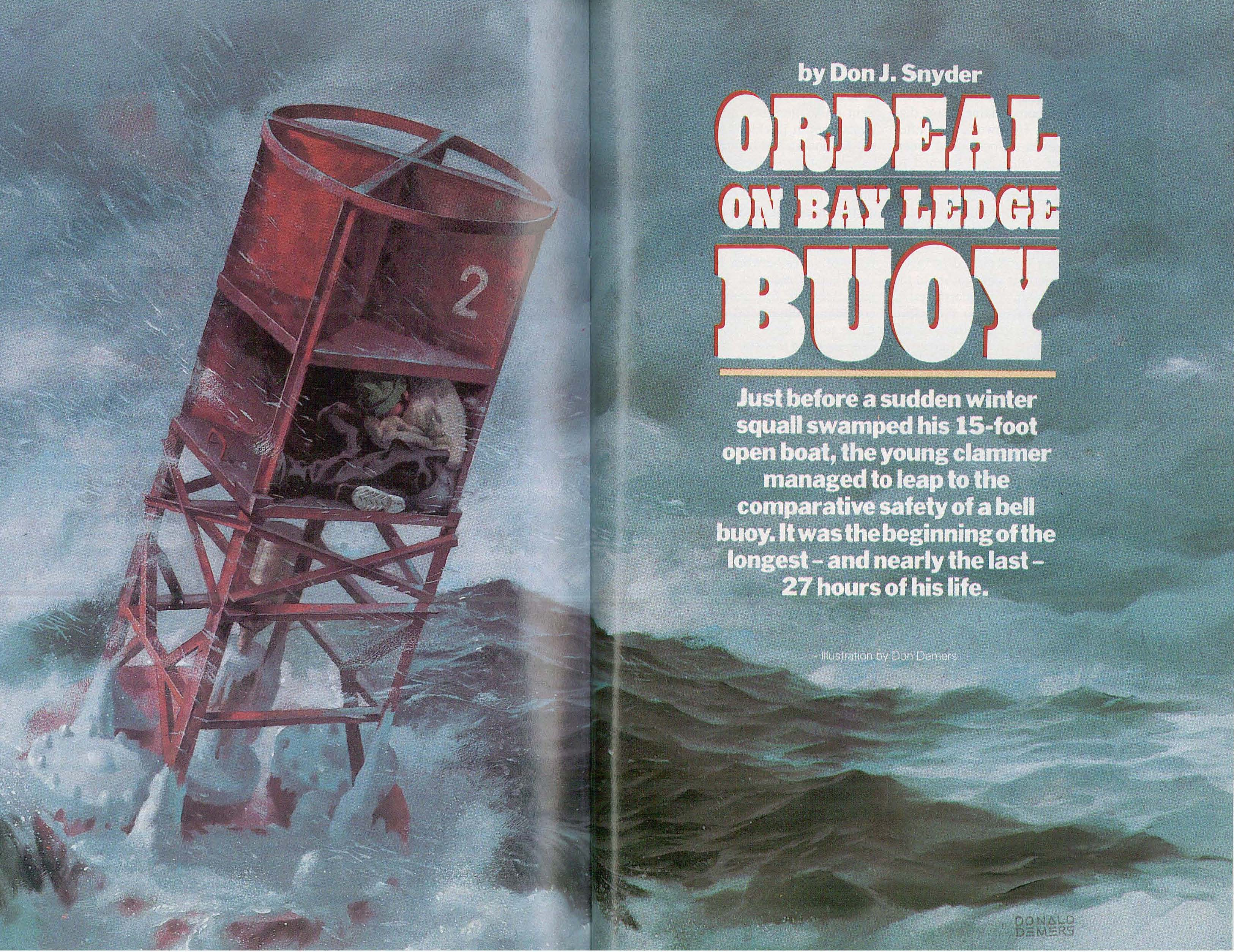 Ordeal on bay ledge buoy new england today geenschuldenfo Choice Image