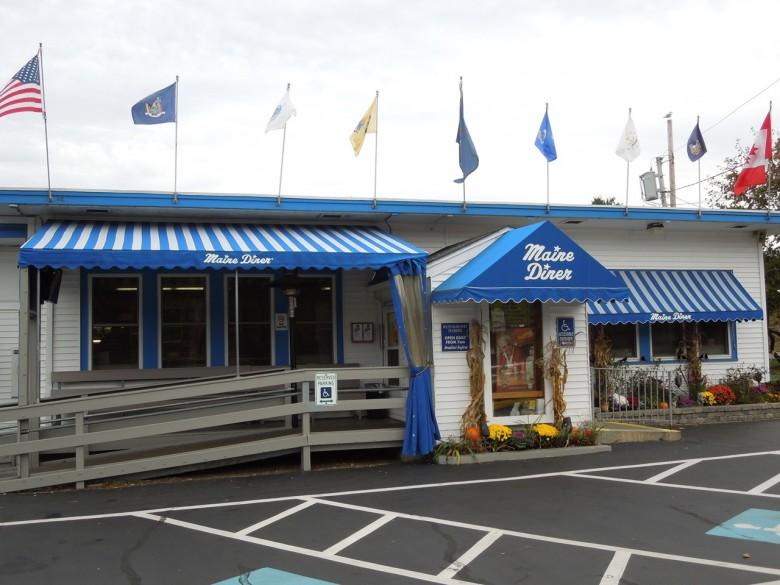 Maine Diner Wells, ME.