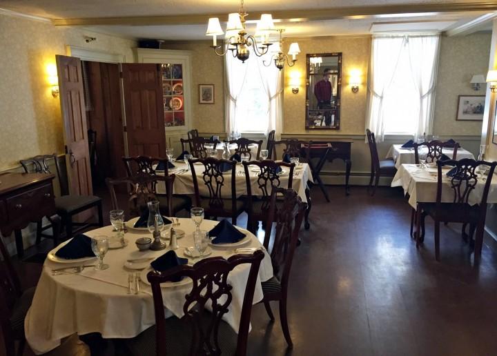 Grafton Inn Dining Room Vermont