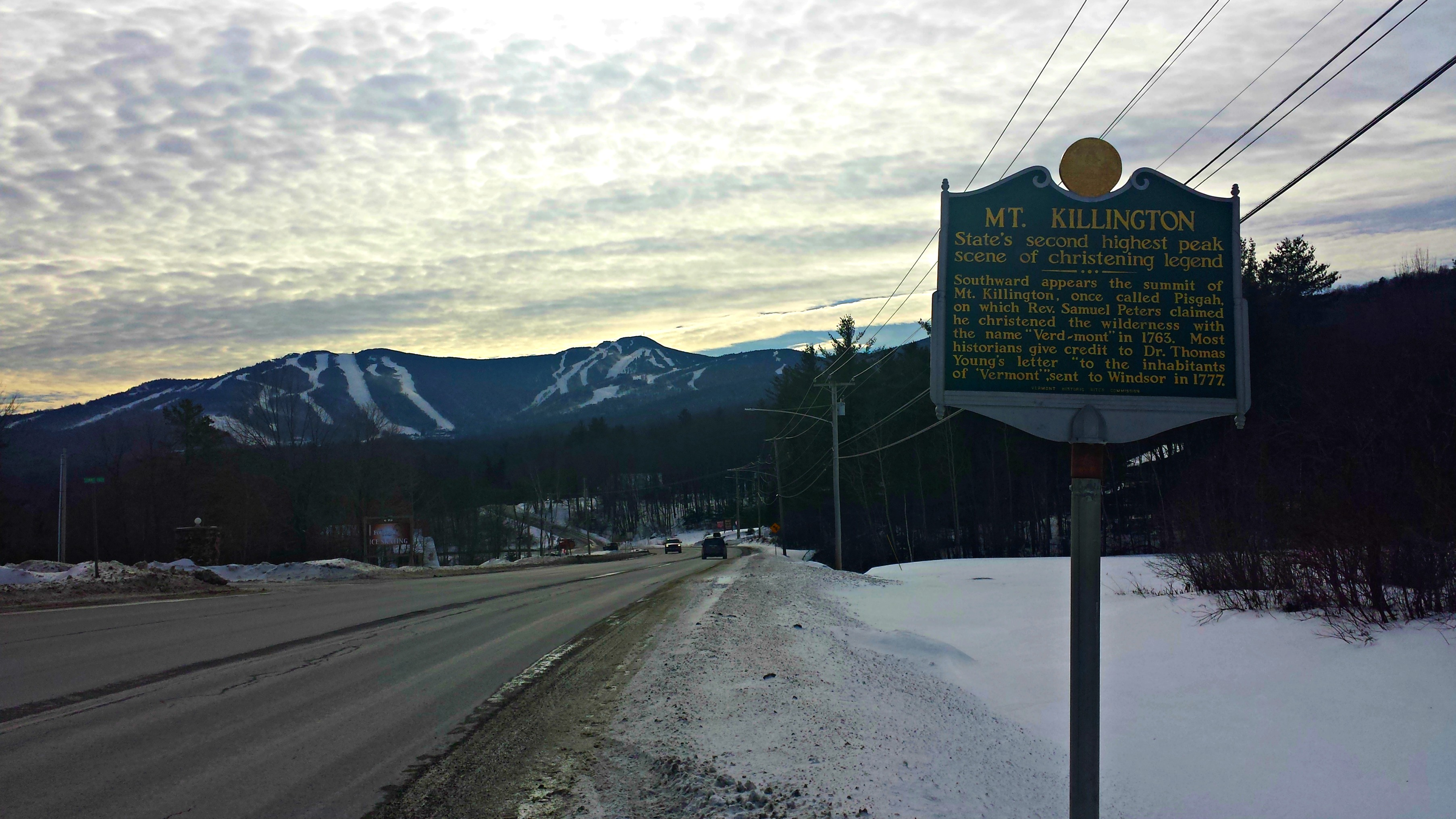 As You Drive Up The Killington Access Road Are Welcomed With Great Views Of A