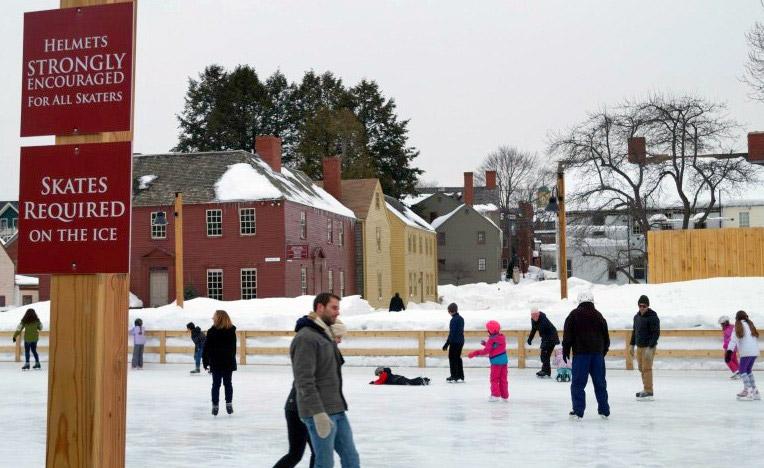 Ice Skating Westerly Rhode Island
