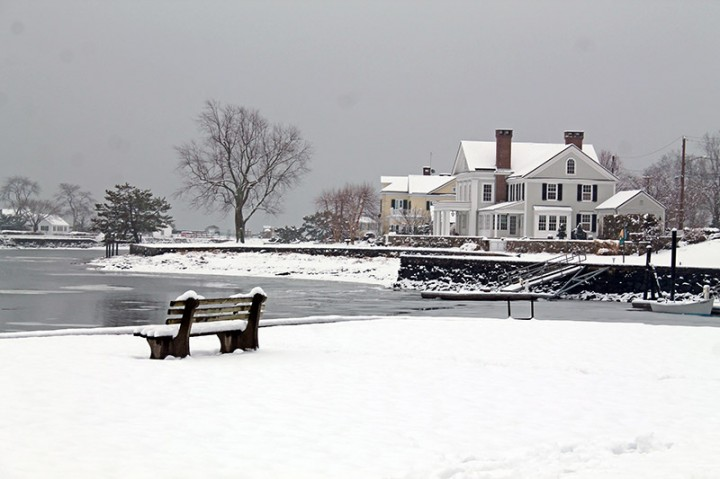'Sittin' at the dock of the bay,' Southport Harbor, Southport CT