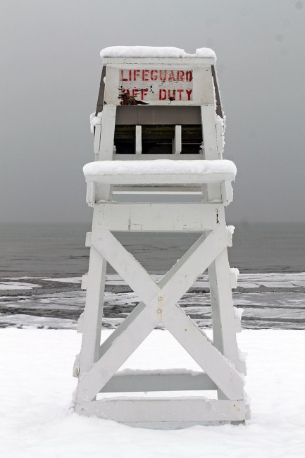 """""""Off Duty"""" Southport Beach, CT."""
