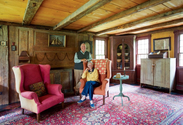 Imitation Antique Home | The Oldest New House in New England